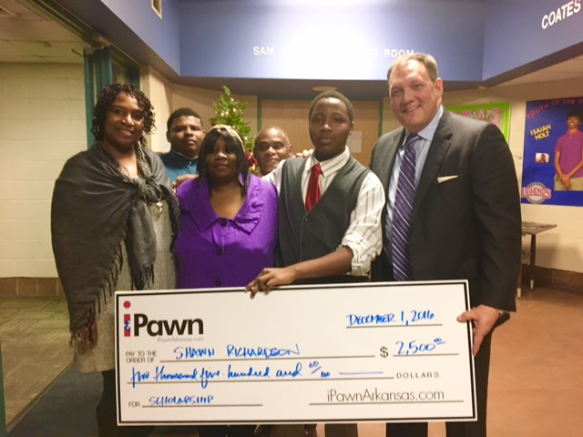iPawn Arkansas Awards Youth of the Year