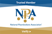 National Pawnbrokers Association Verified Seal