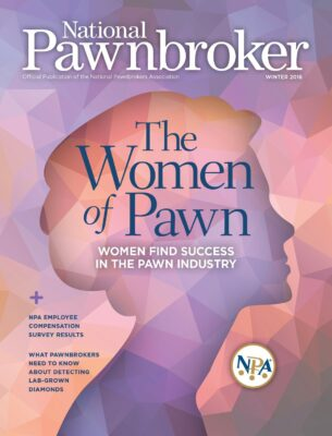 The Women of Pawn National Pawnbroker Magazine Winter 2018 Cover