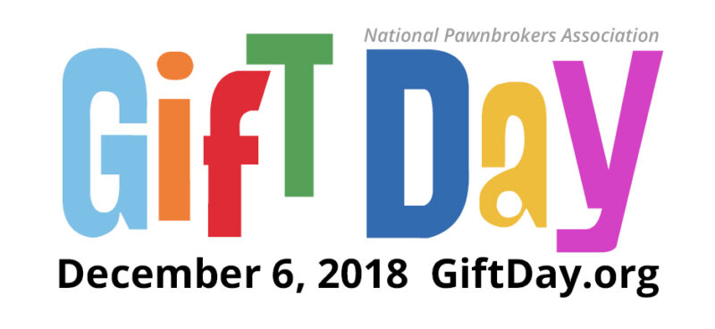 "Gift Day Logo ""Gift Day: December 6, 2018. GiftDay.org"""