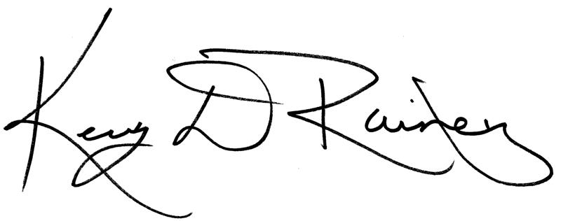 Kerry Rainey Signature
